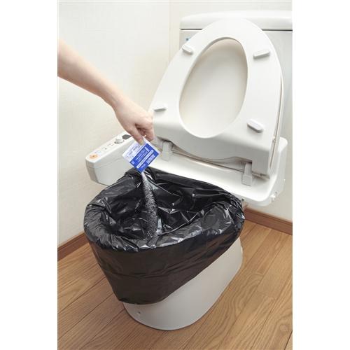 防災用トイレ袋50回分 R−48