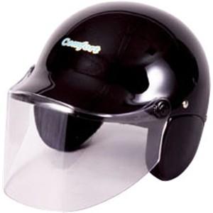 セミジェットヘルメット メタリックブラック KO−329