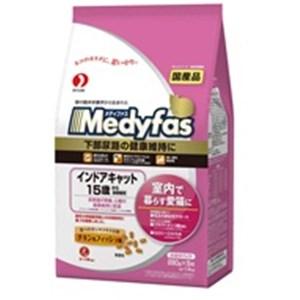 メディファス インドアキャット 15歳から 長寿猫用 チキン&フィッシュ味 1.4kg(280gx5パック)