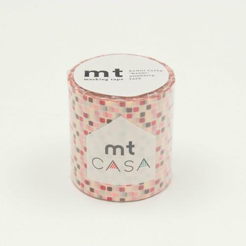 マスキングテープ mt CASA5081 タイル・ピンク