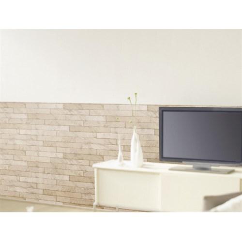 アクセント壁紙 WAP-509腰壁 レンガBE 約92×250cm