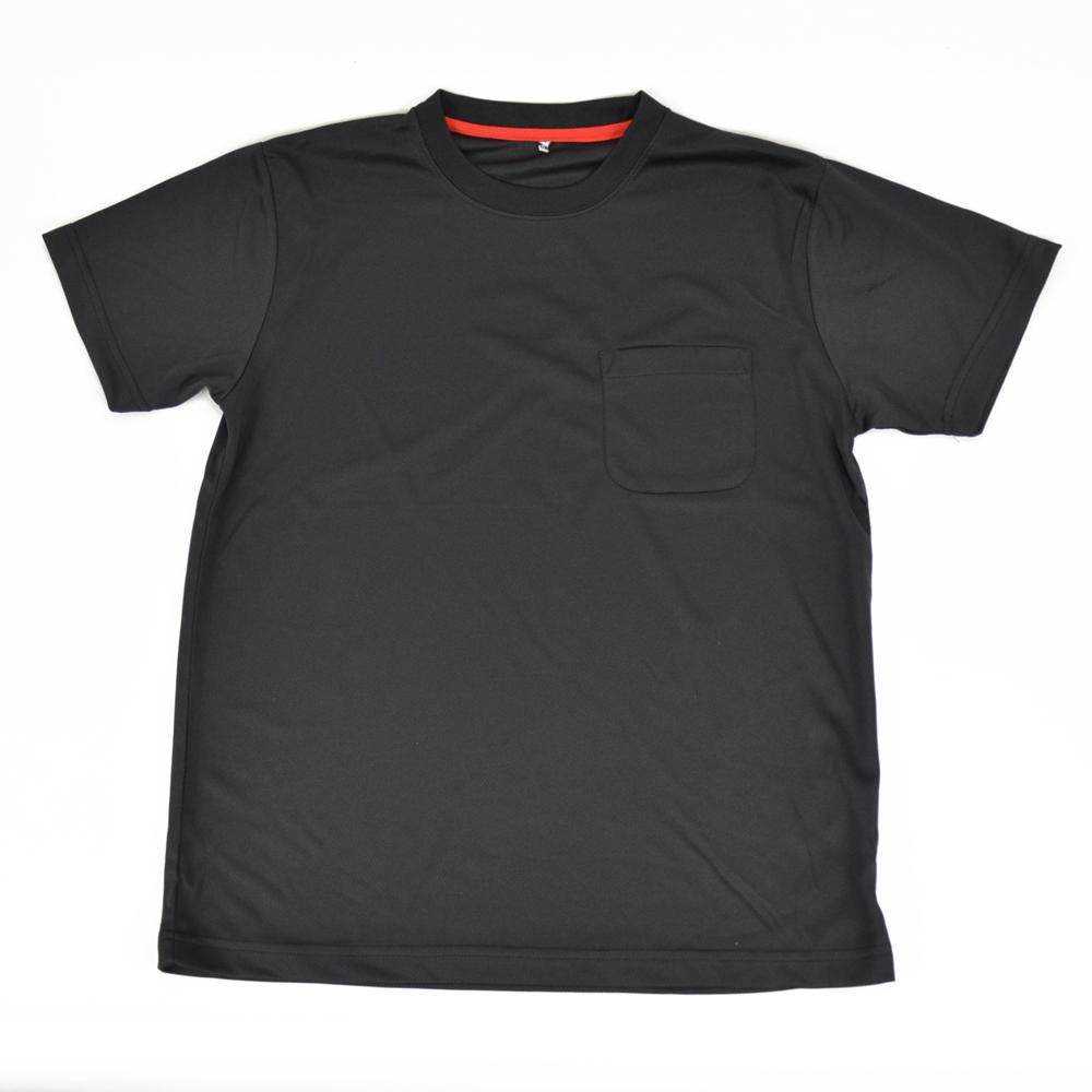 PROACT 吸汗速乾半袖Tシャツ 丸首 FS15−KHT−BK ブラック M