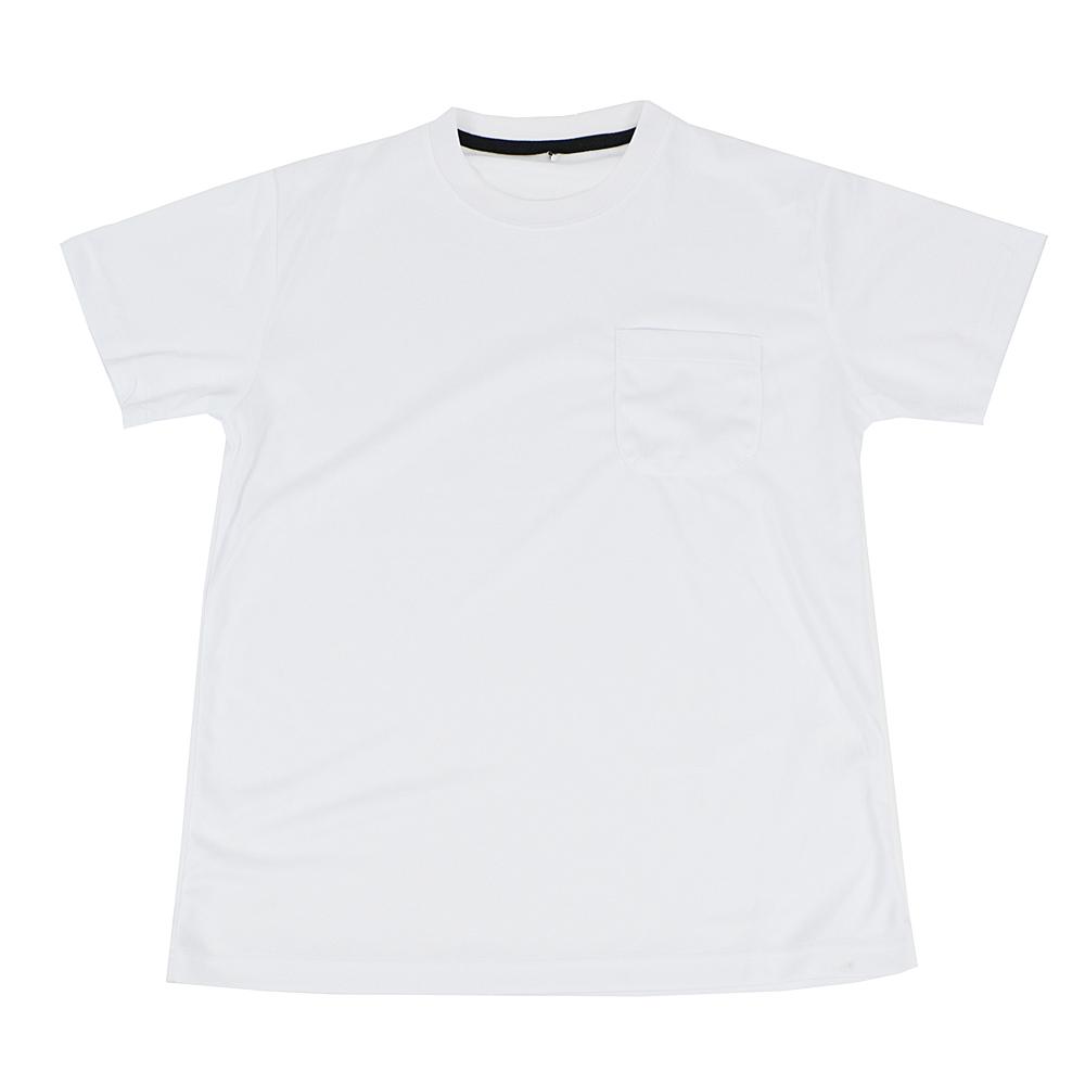 PROACT 吸汗速乾半袖Tシャツ 丸首 FS15−KHT−WH ホワイト L