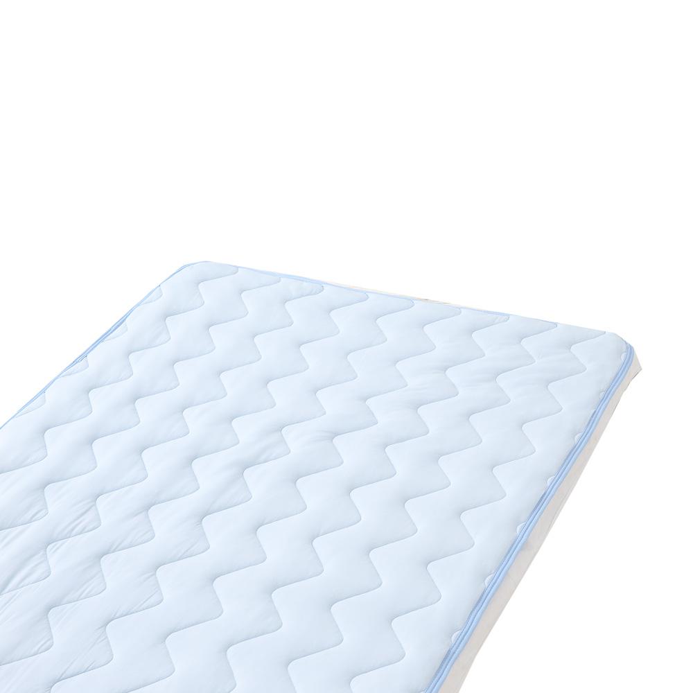 マシュマロひんやり敷きパッド 約100×205cm ブルー