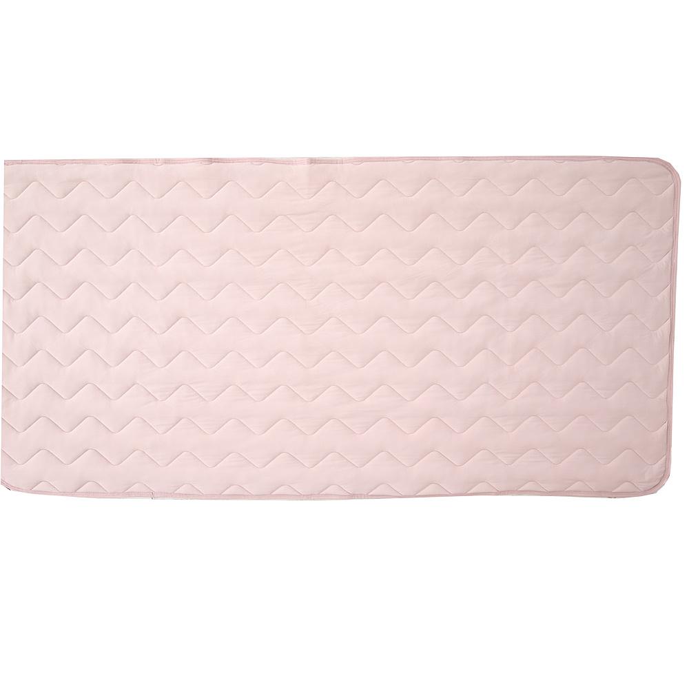 マシュマロひんやり敷きパッド 約100×205cm ピンク