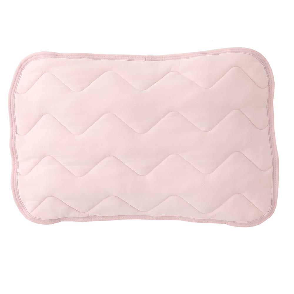 マシュマロひんやり枕パッド 約43×63cm ピンク