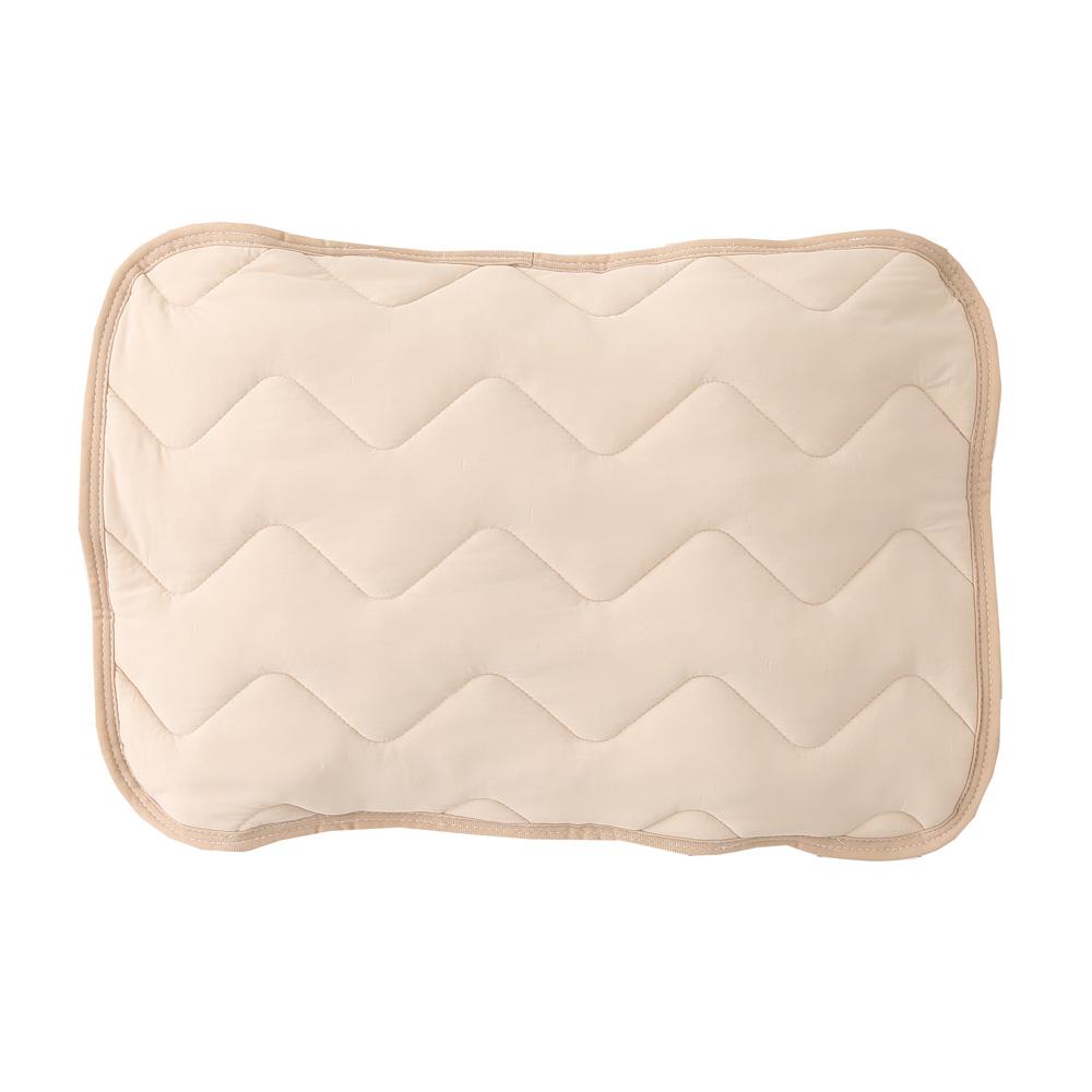 マシュマロひんやり枕パッド 約43×63cm ベージュ