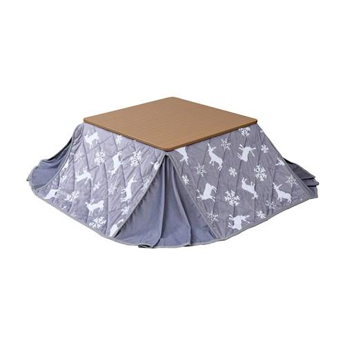 COSY 折りたたみコタツ 正方形タイプ 掛け布団セット