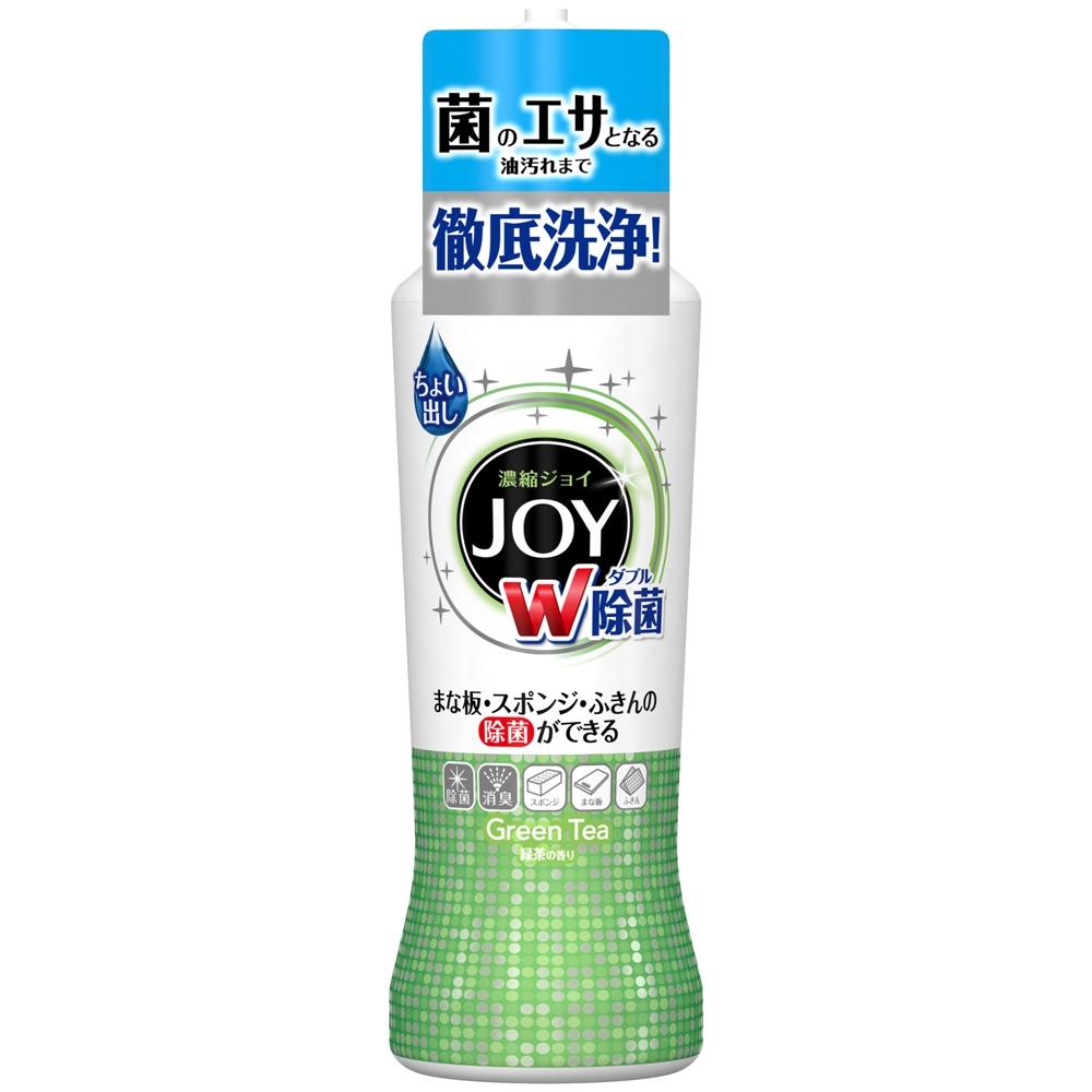 除菌ジョイコンパクト 食器用洗剤 緑茶の香り 本体 190ml