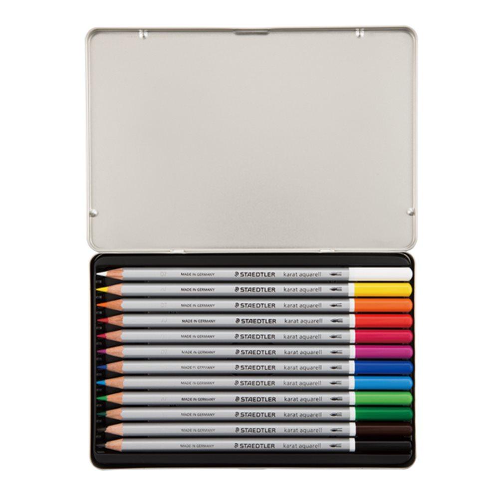 カラトアクェレル 水彩色鉛筆 12色 125M12 12本入 343821