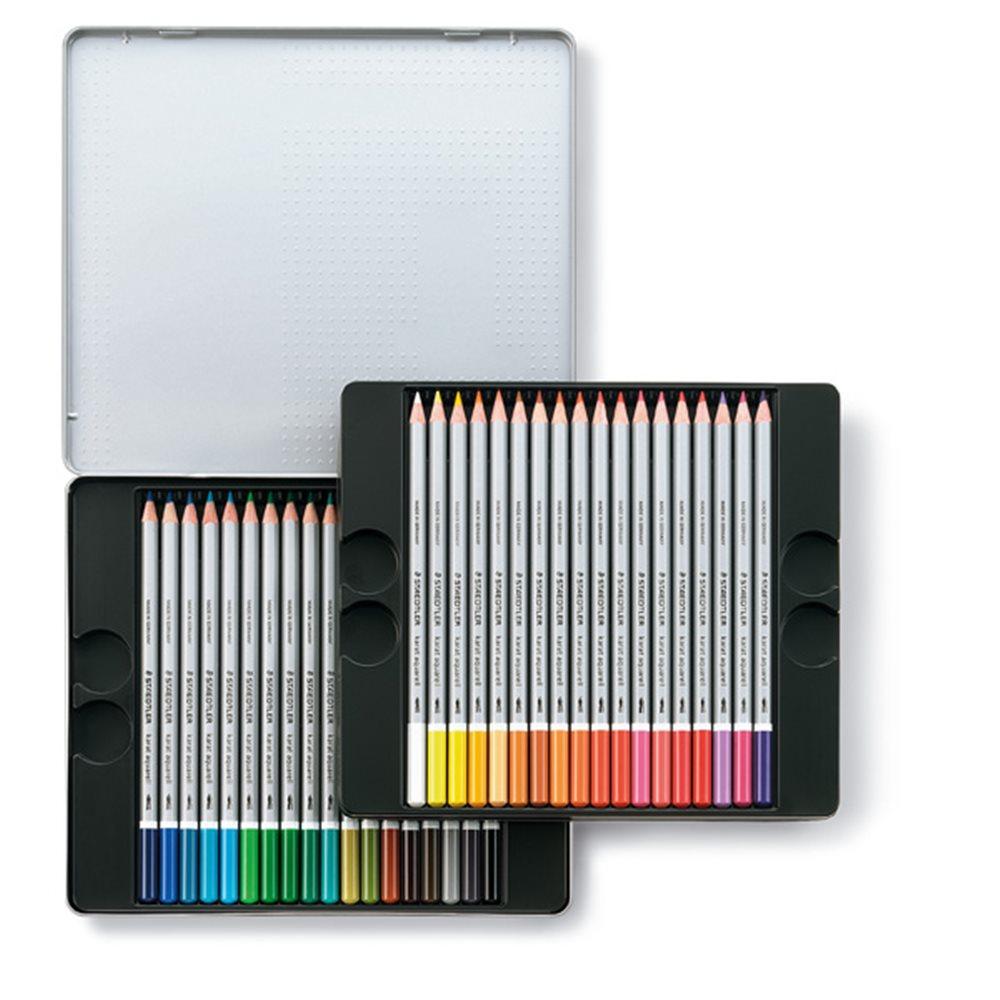 カラトアクェレル 水彩色鉛筆 36色 125M36 36本入 343823