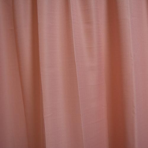 コーナン オリジナル カーテンフランド ピンク 4枚組 約幅100×丈135cm