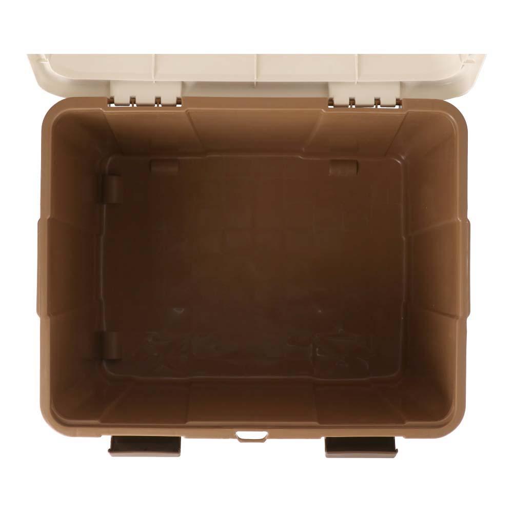 コーナン オリジナル ベランダボックス 85L ブラウン ZQ21-6556 サイズ:60×47×50cm