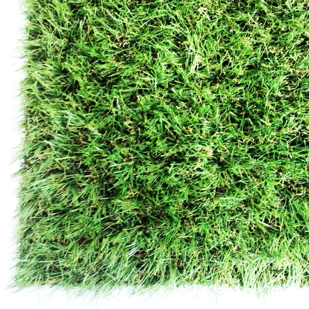 コーナンオリジナル ガーデンターフ 芝丈約:35mm 巾約:1mX5m巻き 透水穴付 (人工芝) (FIFA公認工場製造)