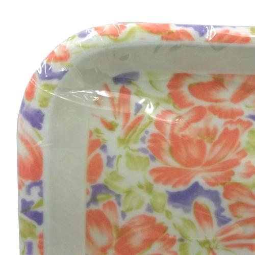 コーナン オリジナル プラスチックトレー ローズ 約26×15cm