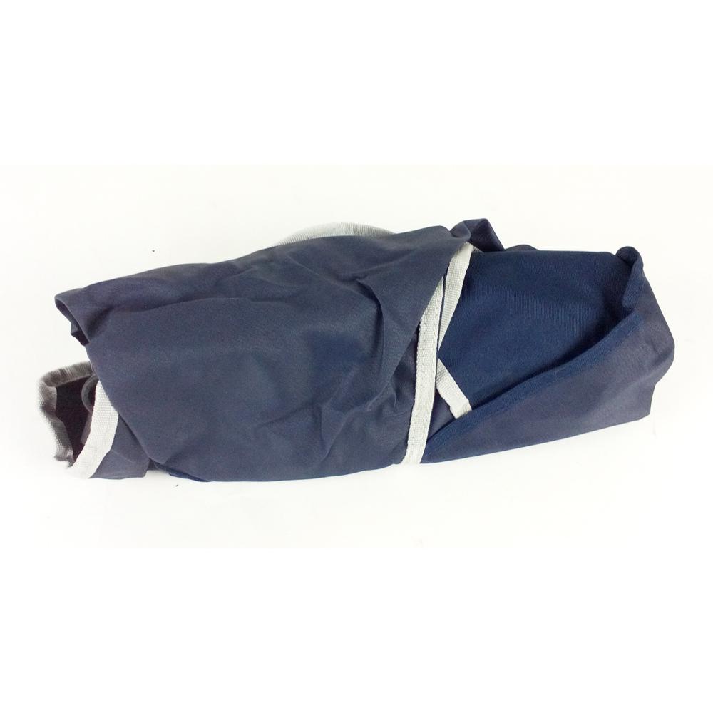 コーナン オリジナル 折畳式 バケットチェア ブルー 耐荷重80kg