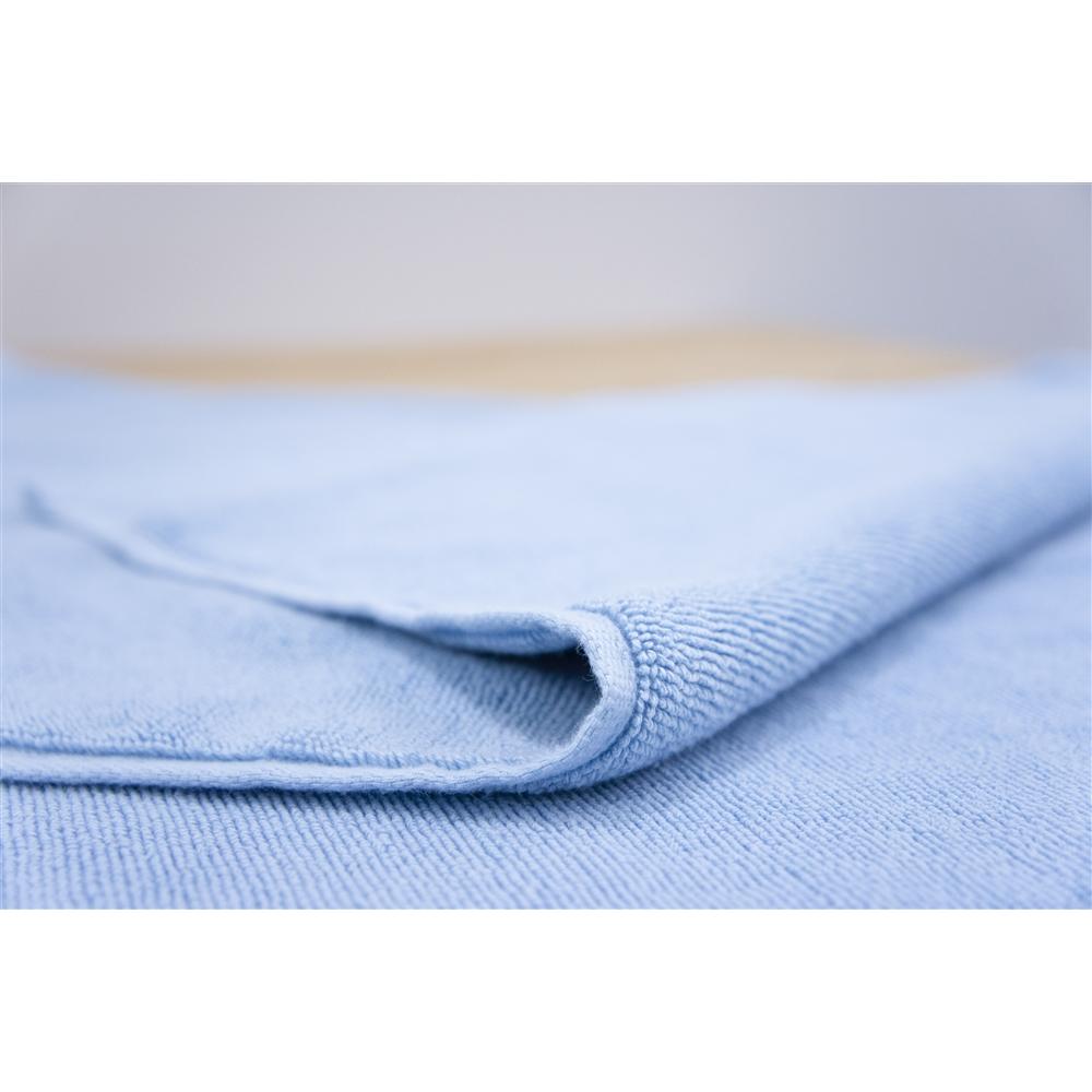 コーナン オリジナル タオルバスマット ブルー 約40×60cm