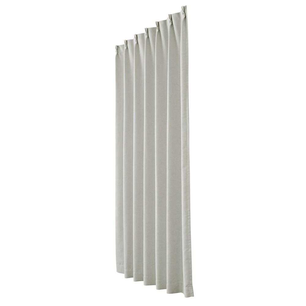 カーテン アトム 2枚組 幅100×高さ135cm 2枚組  グレー