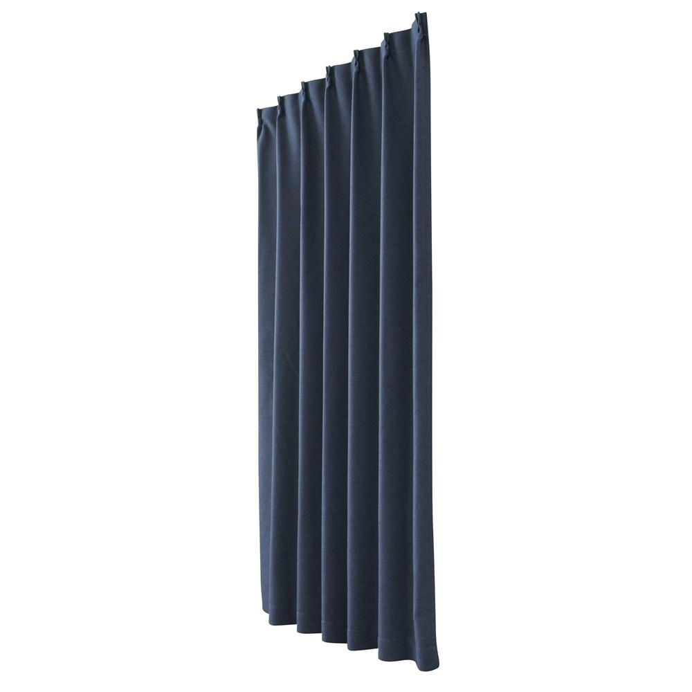 カーテン アトム 2枚組 幅100×高さ178cm 2枚組  ネイビー