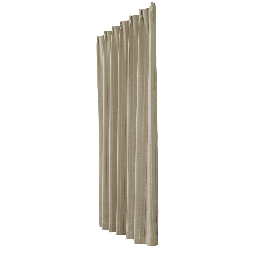 カーテン マター 2枚組 幅100×高さ178cm 2枚組  ベージュ