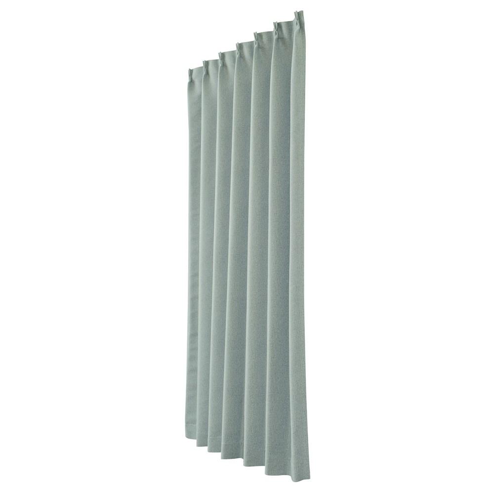 カーテン ニーム 2枚組 幅100×高さ200cm 2枚組  ブルー