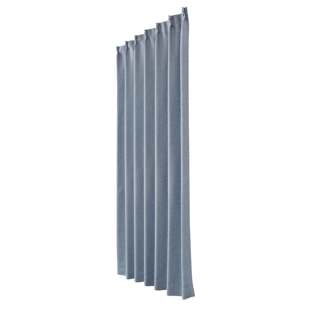 カーテン ニーム 2枚組 幅100×高さ178cm 2枚組  ネイビー