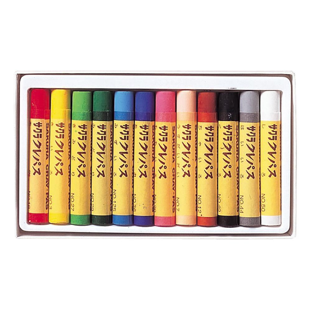 クレパス 12色 LP−12R