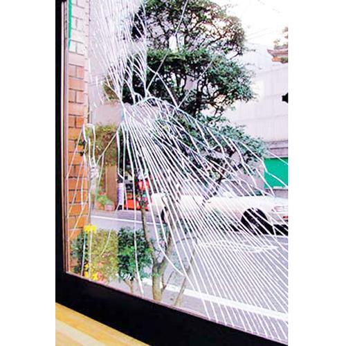 ガラス飛散防止フィルム クリアーシート 46×185cm