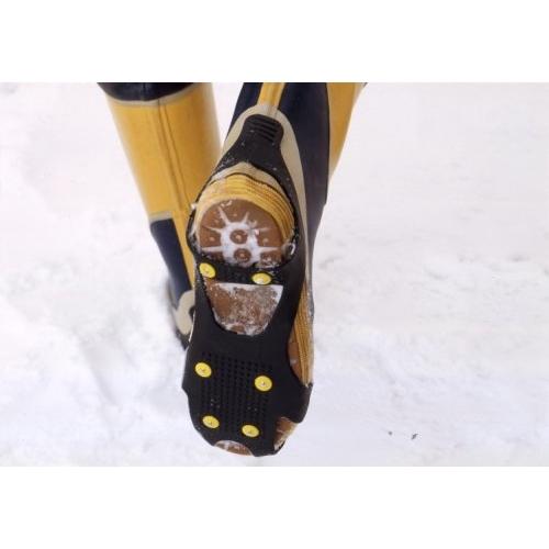 コンパル ワンタッチ滑り止め セット M (23.5〜26.0cm) 雪道用滑り止め