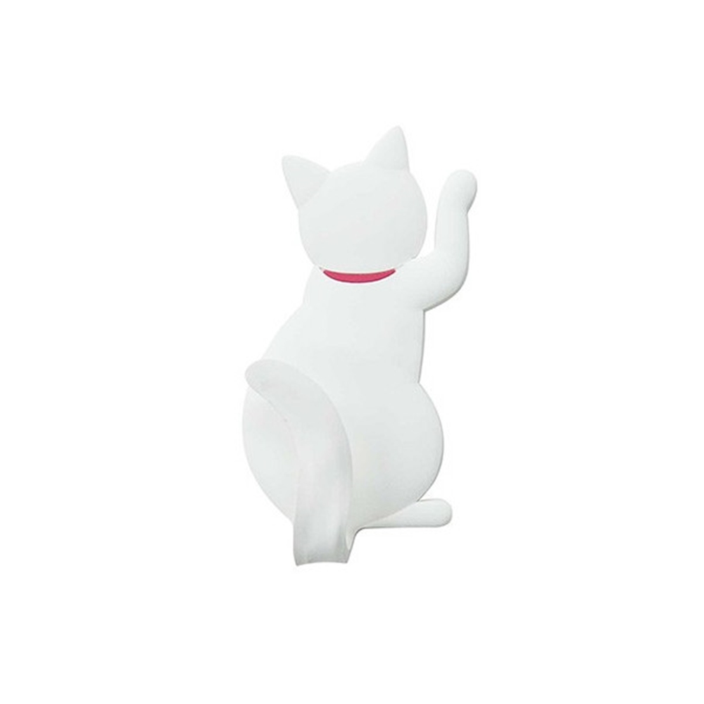 マグネットフック cat tail �@シロ