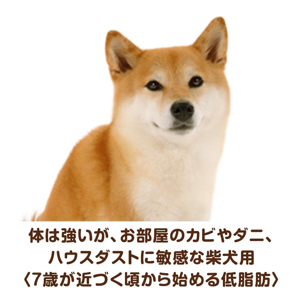 ユニ・チャーム ベストバランス ふっくら仕立て 柴犬用 7歳が近づく頃から始める低脂肪設計 1.8kg 【ドッグフード ソフト 半生】