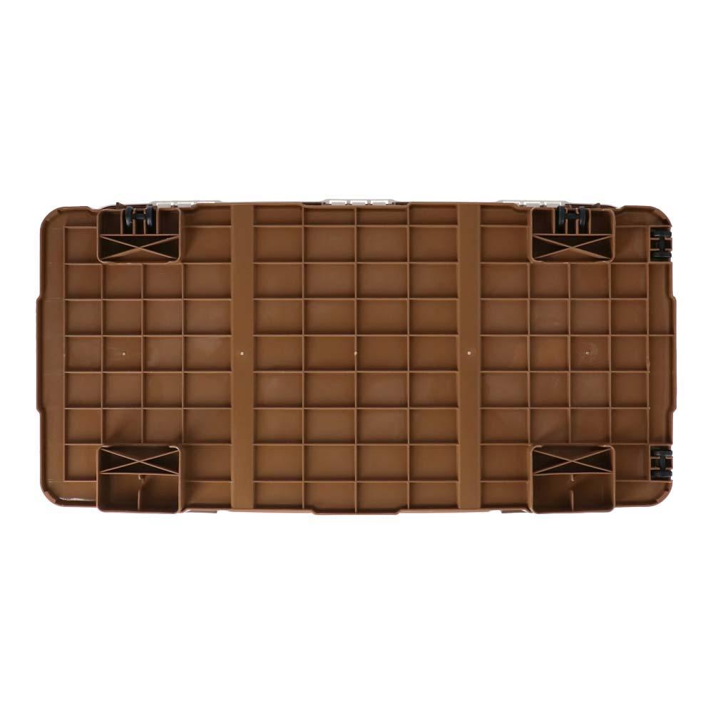コーナン オリジナル ベランダボックス ブラウン 120L ZQ21−6570 サイズ(外寸):約幅86×奥行47×高さ50cm