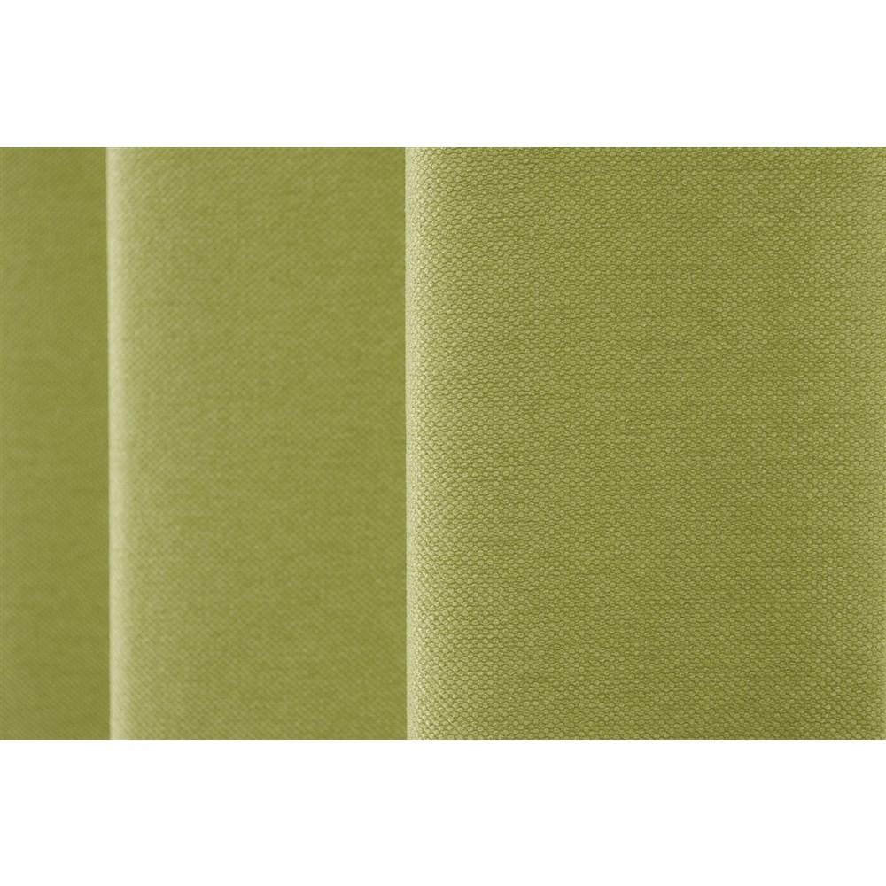 カーテン アトム 2枚組 幅100×高さ178cm 2枚組  グリーン