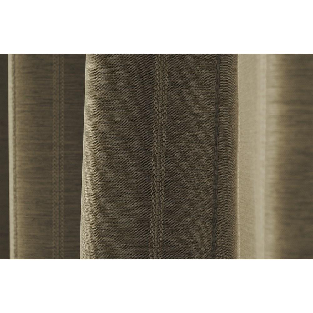 カーテン マター 2枚組 幅100×高さ135cm 2枚組  ブラウン