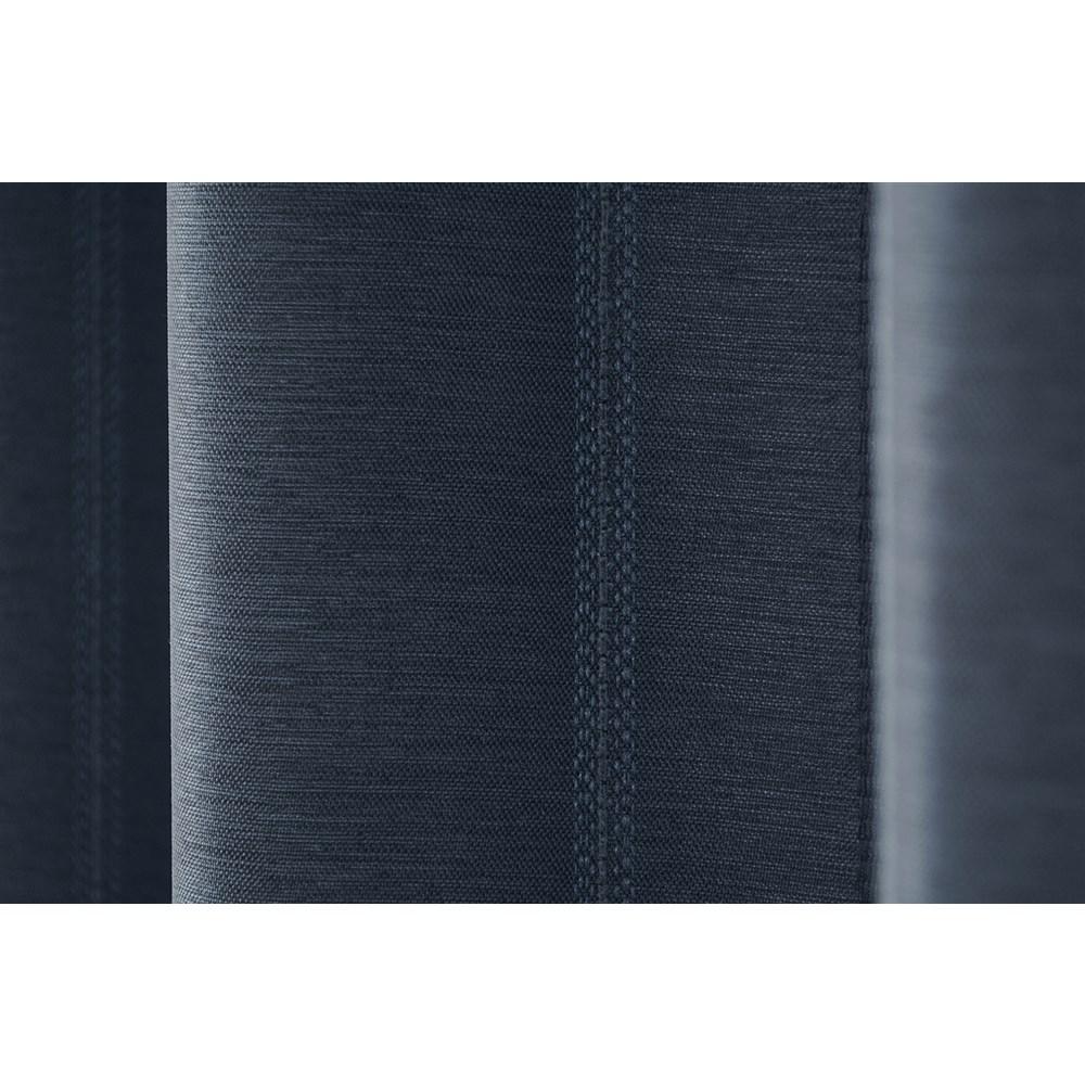 カーテン マター 2枚組 幅100×高さ135cm 2枚組  ネイビー