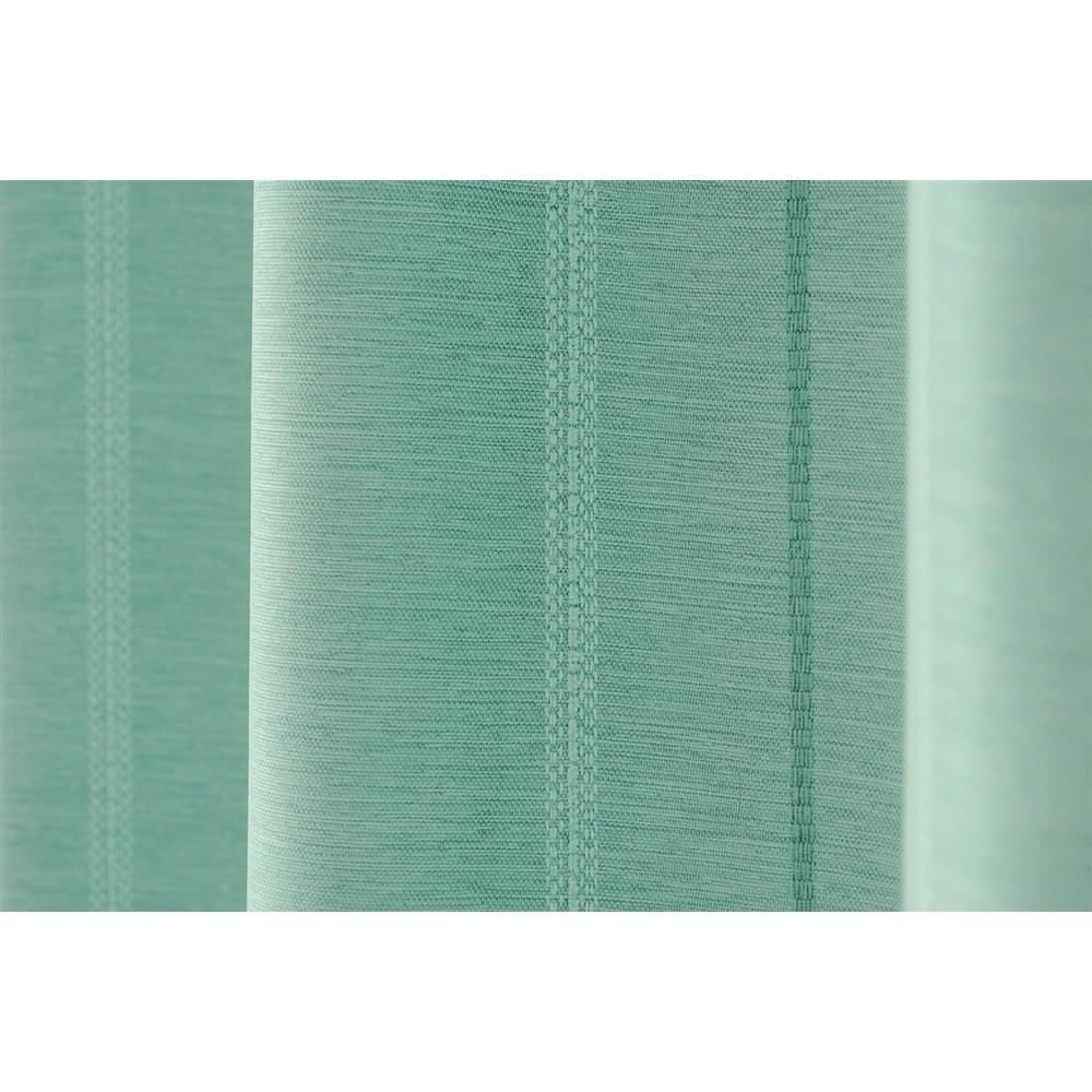 カーテン マター 2枚組 幅100×高さ200cm 2枚組  ターコイズ