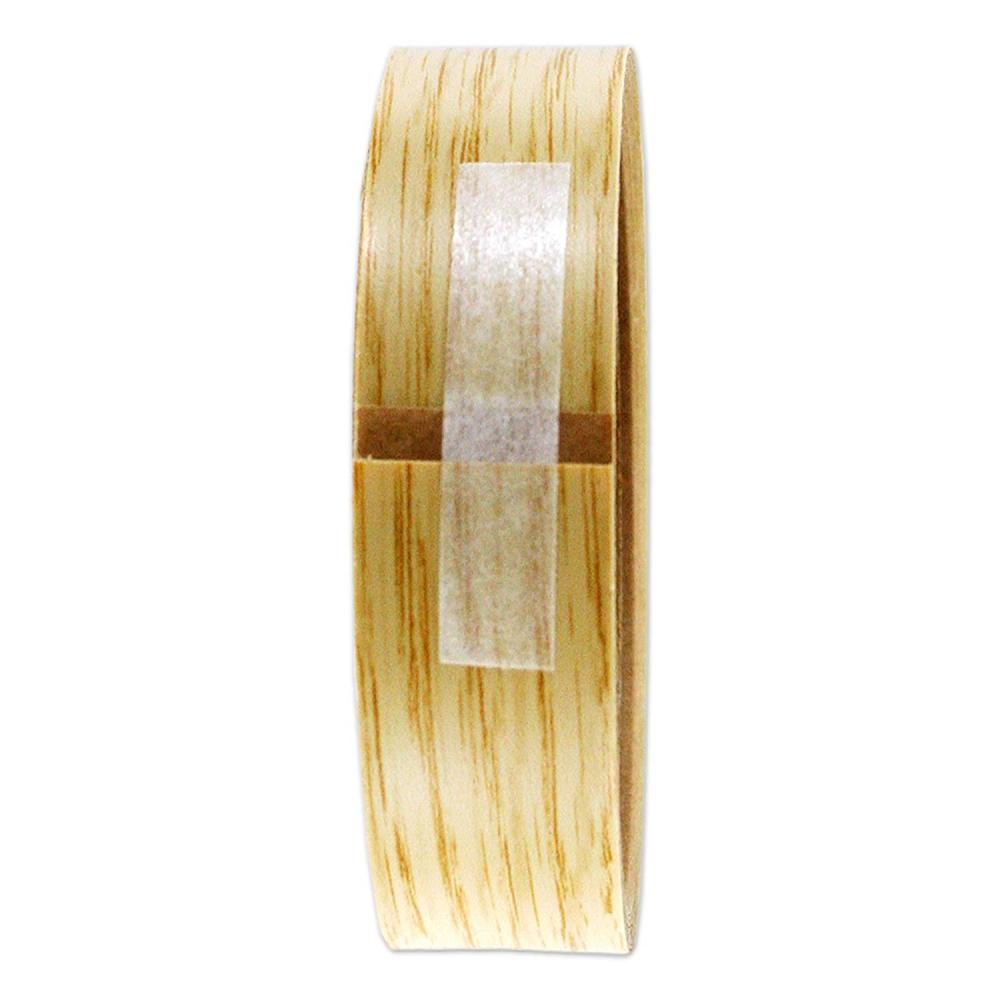 強力粘着 木口貼りテープ ナチュラルオーク 18mm×2m WA4240粘着1802