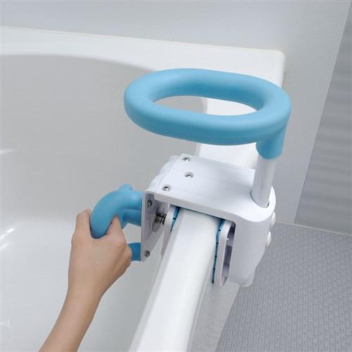 コンパクト浴槽手すり YT01 ブルー