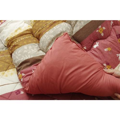 イケヒコ・コーポレーション(IKEHIKO)  和柄 こたつ布団 長方形大 掛け単品 『こよみ』 ローズ 約205×285cm