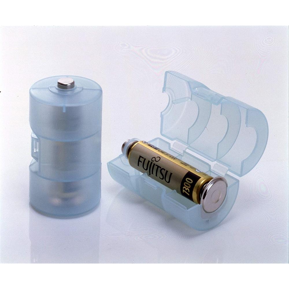 ADK 単3が単1になる 電池アダプター ブルー ADC-310