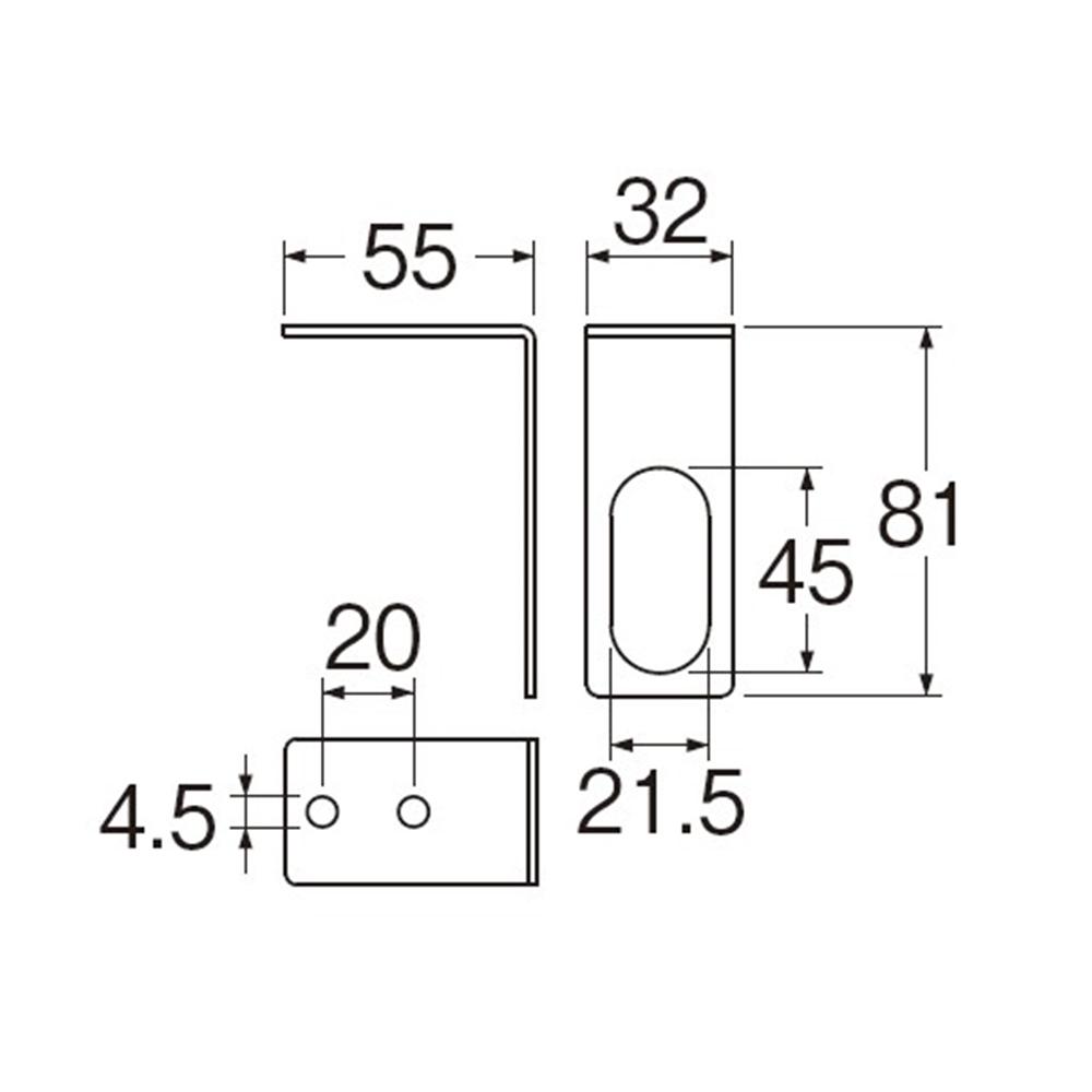 SANEI 【止水栓用金具】 分岐止水栓ブラケット R641