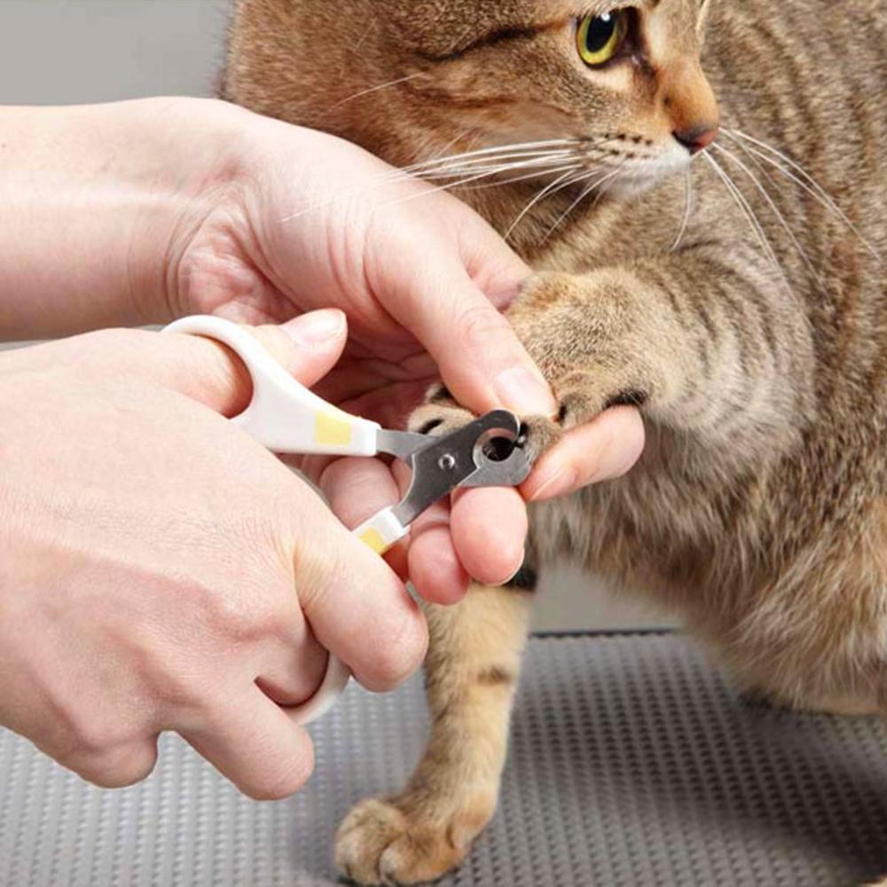 NHS 猫用カーブ爪切り