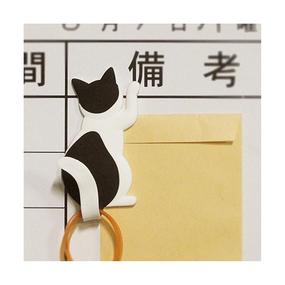 マグネットフック cat tail �Gハチワレ
