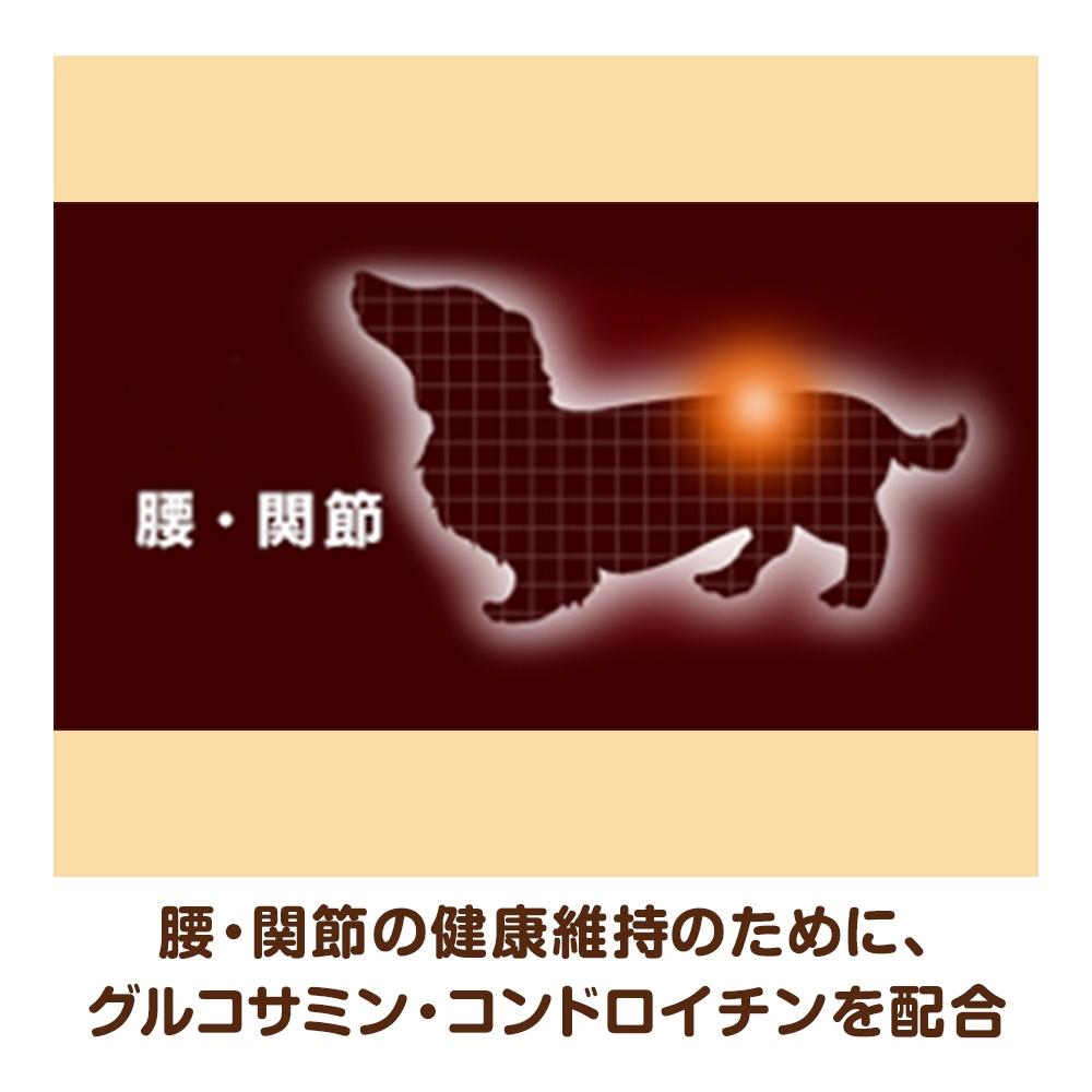 ユニ・チャーム ベストバランス カリカリ仕立て ミニチュアダックスフンド用 成犬用 2kg 【ドッグフード ドライ】