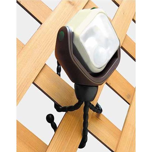 コーナン オリジナル マグにゃっとセンサーライト ホワイト 乾電池式 1WLED
