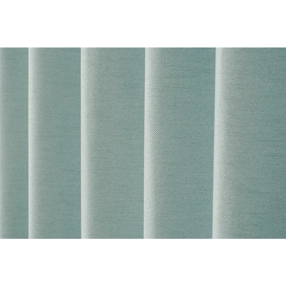 カーテン アトム 2枚組 幅100×高さ135cm 2枚組  ターコイズ