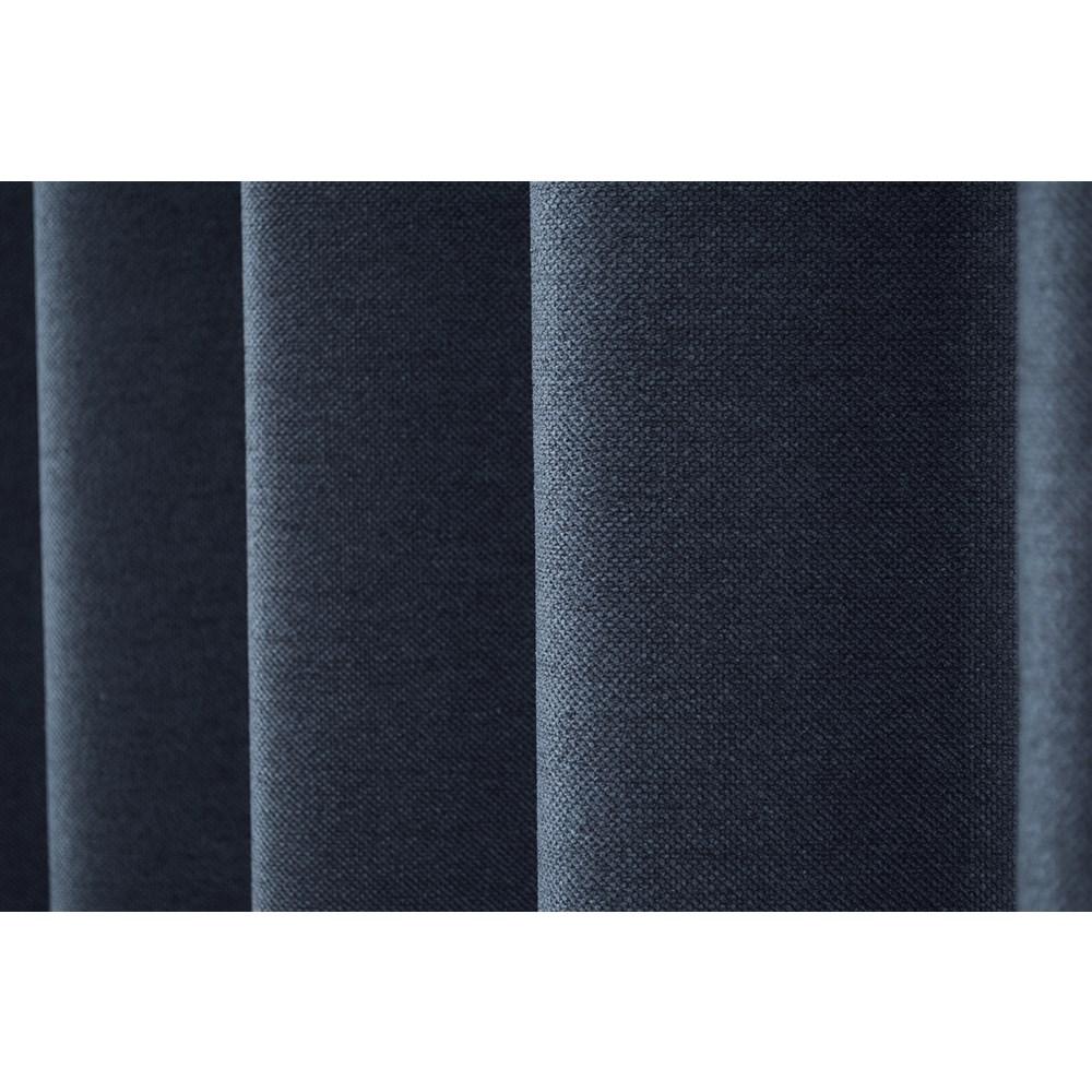 カーテン アトム 2枚組 幅100×高さ135cm 2枚組  ネイビー