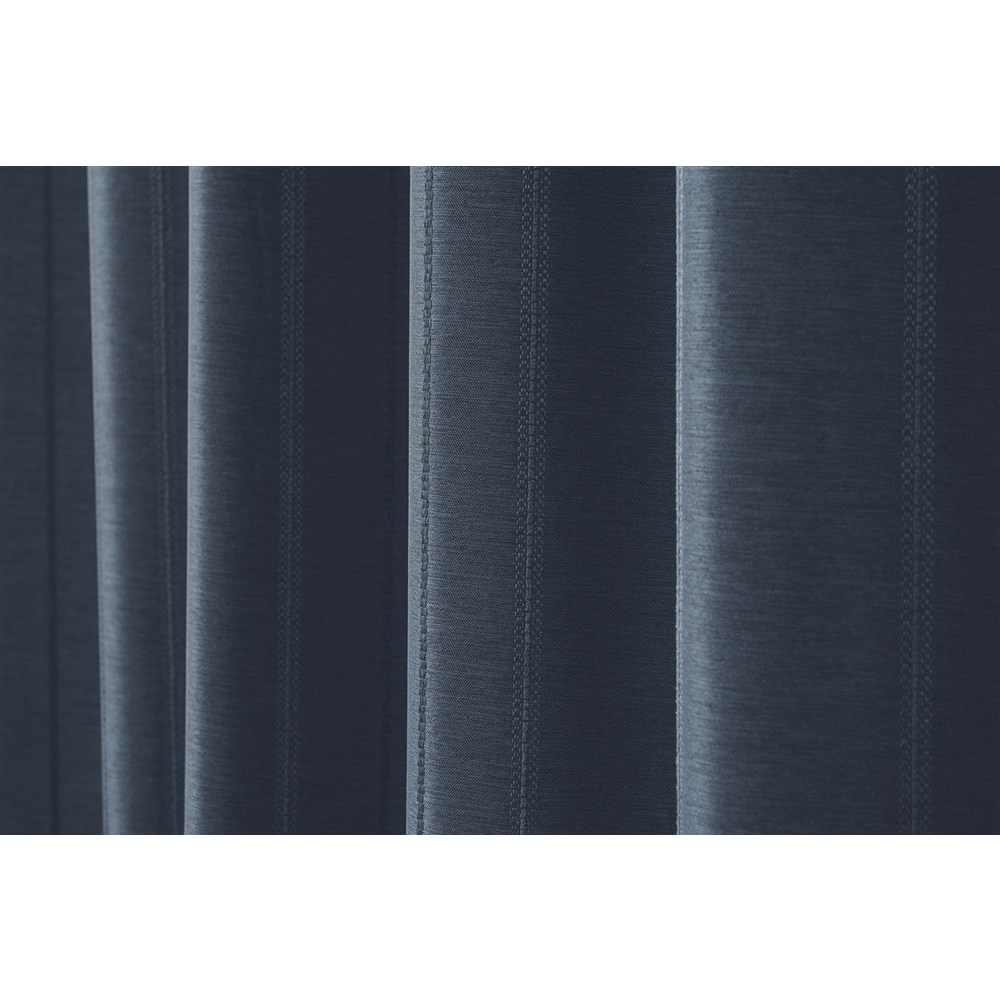 カーテン マター 2枚組 幅100×高さ200cm 2枚組  ネイビー