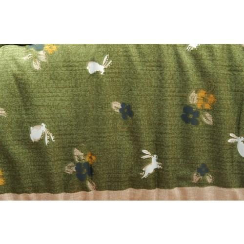 イケヒコ・コーポレーション(IKEHIKO)  和柄 こたつ布団 長方形 掛け単品 『こよみ』 グリーン 約205×245cm