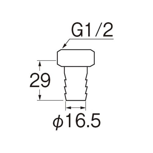 三栄水栓(SANーEI) ユニオンナット ホース用 PT31